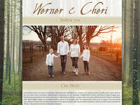 Werner & Cherri Marriage Invite