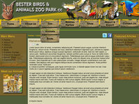 Bester Birds - Previous Website