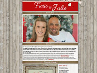 Furio & Julie Wedding Invite